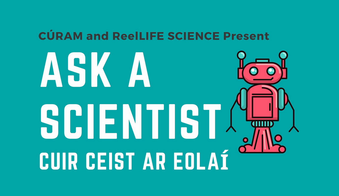Be part of the 'Ask A Scientist' panel at Ireland's only Science Film Festival